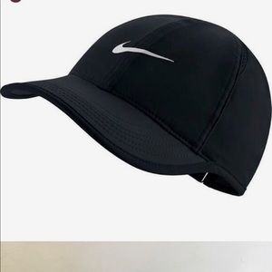 Nike Black Dri Fit Golf Hat Cap Adjustable Tennis